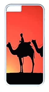ACESR Camel iphone 5 5s Hard Shell Case Polycarbonate Plastics Coolest Case for Apple iphone 5 5s( inch) White