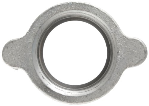 Dixon Boss B17 Plated Iron Hose Fitting, Wing Nut for 1-1/4'' and 1-1/2'' Boss Washer Seal and GJ Boss Ground Joint Seal by Dixon Valve & Coupling (Image #2)