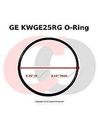 (Paquete de 3) GE kwge25rg Junta Tórica Para GE gxwh04 F, gxwh20 F, gxwh20s, gxrm10 y gx1s01r Filtros de agua