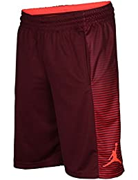 Men's Dri-Fit Game Basketball Shorts-Maroon