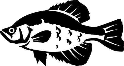 Crappie decal