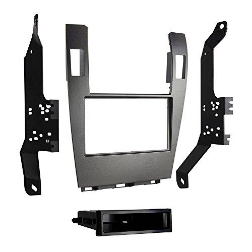 - Metra 99-8162G Single/Double DIN Dash Kit for 2007-2012 Lexus ES350 (Gray)