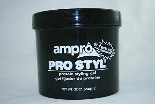 (Ampro Pro-Style Protein Gel Super Hold Jar, 32 Ounce)