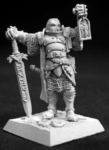 Reaper Marcus Gideon Crusaders Hero Miniature 25mm Heroic Scale Warlord Miniatures