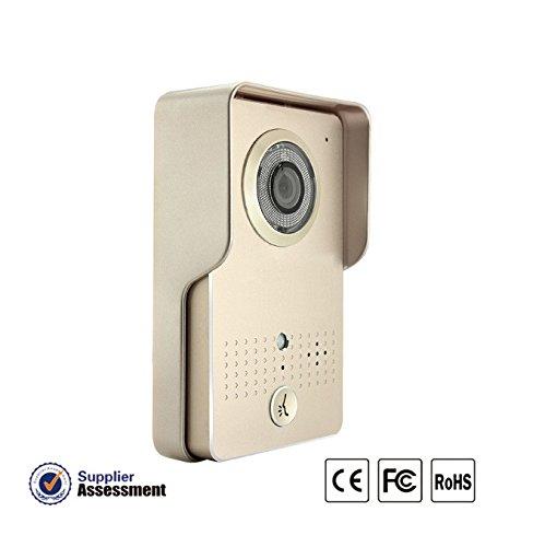 Riorand tft lcd digital door viewer doorbell security for Door viewer camera