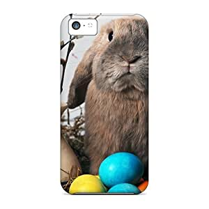 [rFWYYVc2461SaEPw]premium Phone Case For Iphone 5c/ Easter Bunny Tpu Case Cover