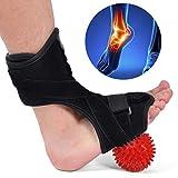Y.F.M Plantar Fasciitis Night Splint,Drop Foot Orthotic Brace Kit with Hard Spiky Massage