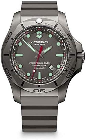 Victorinox uomo i.n.o.x. professional diver titanium - orologio al quarzo analogico/gomma al quarzo fabbricato 241810