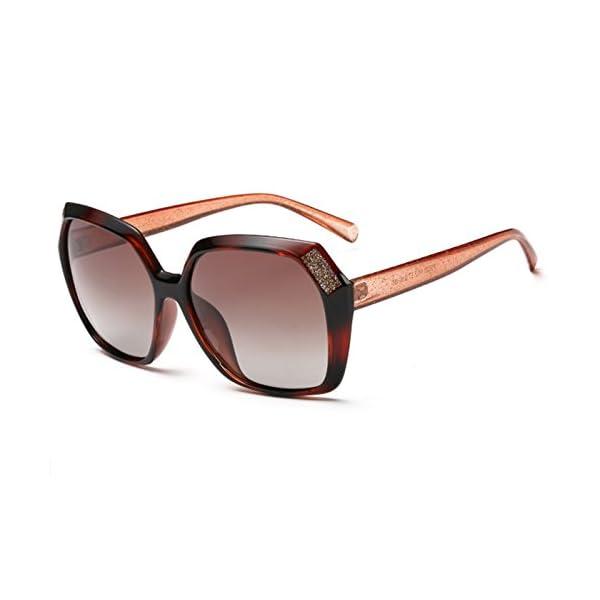Joopin Polarized Sunglasses for Women Vintage Big Frame Sun Glasses Ladies Shades