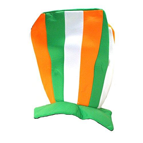 Irish Tri Color Jumbo Stovepipe Hat