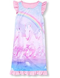 Girls' Short Sleeve Night Gown,