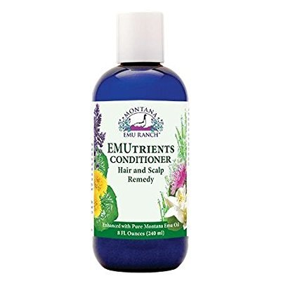 - Montana Emu Ranch - EMUtrients Conditioner 8 Ounce Bottle - Made with Pure Emu Oil