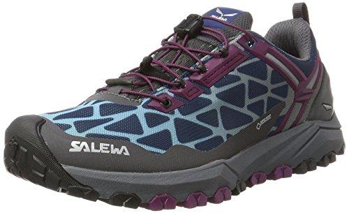 Chaussures Femme Track Randonnée GTX Basses Denim Magenta Violet Dark 6125 Purple WS Salewa Multi de nqARRg8