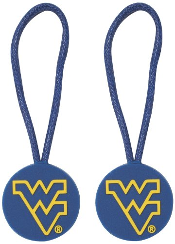 NCAA West Virginia Mountaineers ID/Zipper Pull