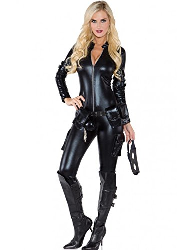 Underwraps Costumes Women's Sexy Thief Costume, Black, X-Large ()