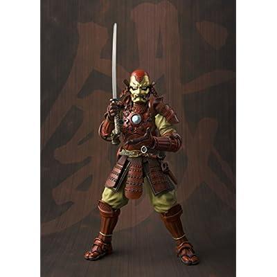 Bandai Tamashii Nations Manga Realization Samurai Iron Man Marvel Action Figure: Toys & Games