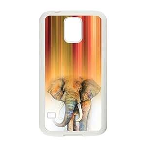 Nymeria 19 Customized Elephant Diy Design For Samsung Galaxy S5 Hard Back Cover Case DE-208