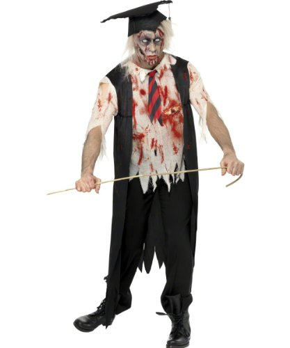 [Smiffy's High School Horror Zombie Headmaster (Medium)] (School Headmaster Costume)