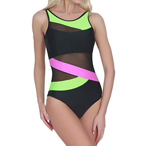 Womens Spell Color Push-up Bikini Bra Swimwear Swimsuit Bathing Beachwear ()