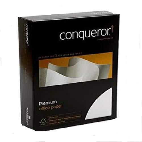 Conqueror Ramette de 500 Feuilles de Papier - A4 - Crème Vergé