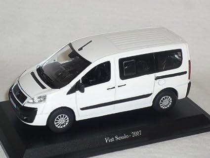 FIAT SCUDO 2007 blanc 1//43 de agostini modèle voiture voiture miniature