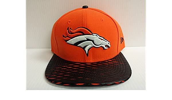 Amazon.com   New Era NFL Denver Broncos Leather RIP 2Tone Original Fit  Snapback Cap 9fifty NewEra   Sports   Outdoors 693913fe9