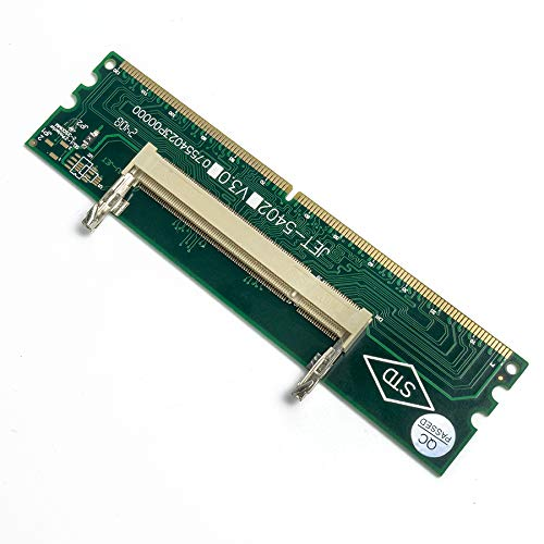 QNINE DDR2 SO DIMM to Desktop Adapter, DIMM Connector Memory Ram Adapter Card 200 to 240P Ram Card Tester