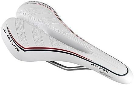 Sillín bicicleta bicicleta MTB/Carretera GES MX3 con desagüe Prostatico – Color Blanco: Amazon.es: Deportes y aire libre