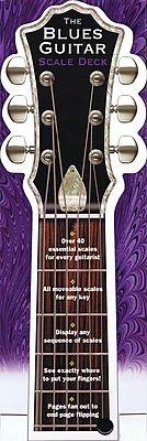 Music Sales The Blues Guitar Scale Deck