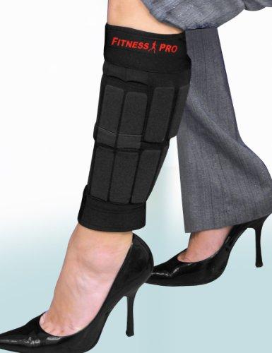 Amazon.com : WEARABLE WORKOUT LEG WEIGHTS - SET OF 2 FITS CALVES ...