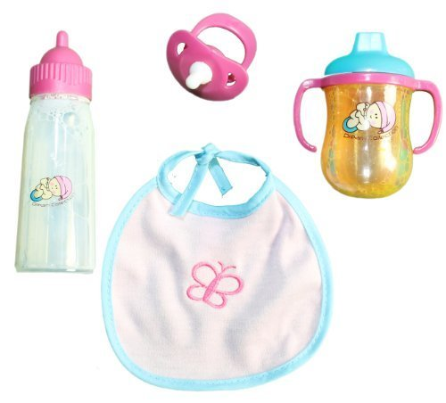 Price comparison product image Dream Collection Doll Feeding Time Set with Pacifier
