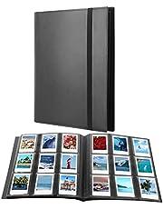 432 Pockets Photo Album for Fujifilm Instax Mini 11 90 40 9 8+ 8 7s LiPlay Instant Camera, Polaroid Snap SnapTouch PIC-300 Z2300 Instant Camera, Kodak Smile Printomatic Instant Print Camera (Black)