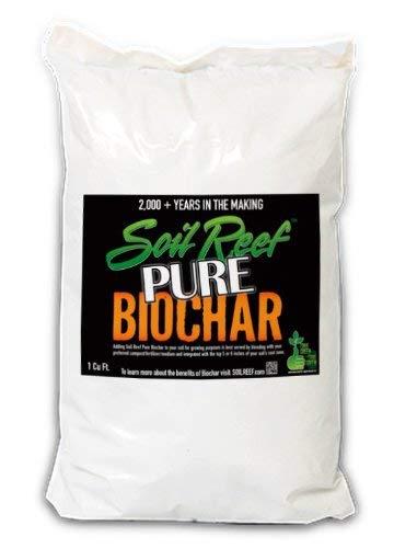 Soil Reef Pure. 100% Biochar - Environmental Applications. The #1 Selling Biochar Brand On The Internet! - 1 cu. ft. Bag - Free FedEx Shipping