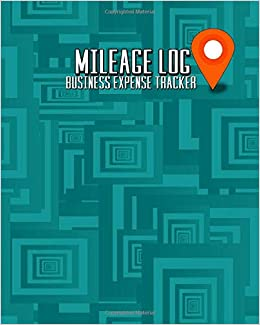 amazon com mileage log business expense tracker a simple teal