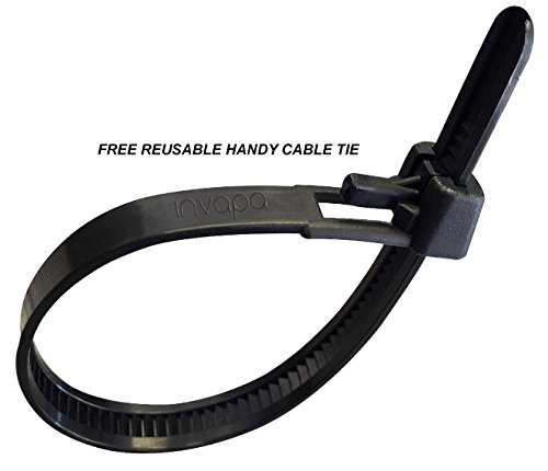 2 Metre FREE reusable cable tie. 3 Pin Wall Cord to Figure 8 C7 UK Mains Power Lead Cable for Samsung Toshiba LG Sharp Sony TV invapa/®