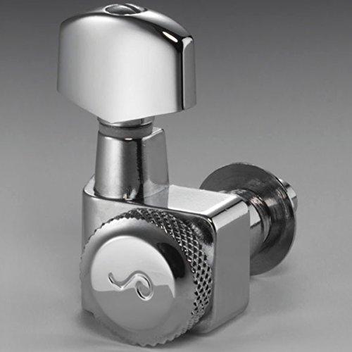 Locking Tuner Chrome - Schaller Machine Heads - Original F Series Locking Tuner Chrome