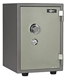 American Security Products U.L Listed 1 Hr Fire Combo Safe (OD 19 1/8x13 1/2x15 11/16, 126-Pounds)