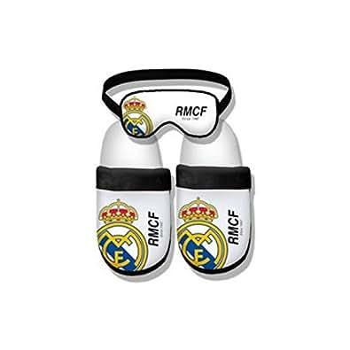 Real madrid zapatillas talla m escudo