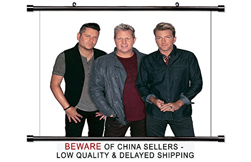Rascal Flatts Country Band Fabric Wall Scroll Poster