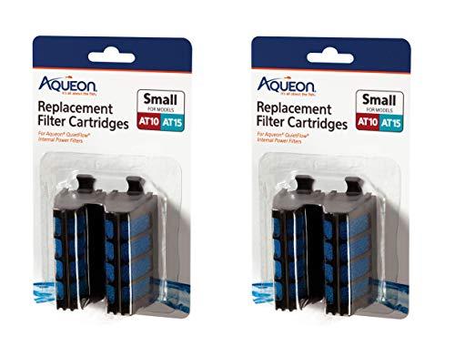 Aqueon Quietflow Internal Filter Cartridge Small 4Count ()