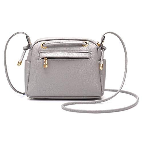 Sac Simple Sac à Messenger Bag BAILIANG Main Sac Grey Drawstring à à Main Mini Lady Packet Bandoulière zwzqvY