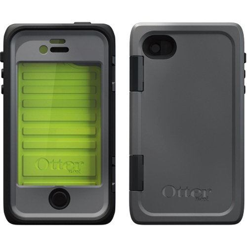Otterbox Armor (OTTERBOX 77-26095 iPhone(R) 4/4S Armor Series(R) Case (Black/Green))