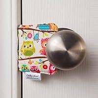 The Original Cushy Closer Door Cushion (Olivia-Owls)