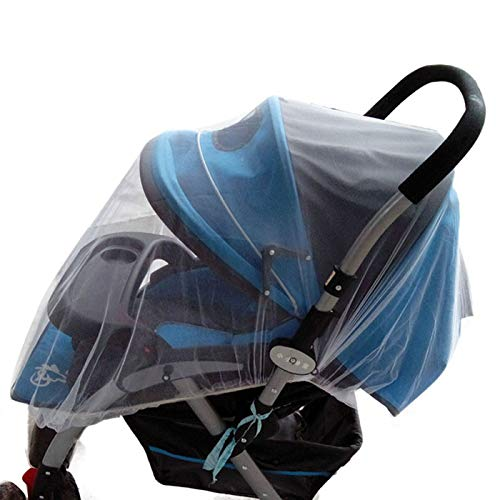 ♛Euone Mosquito Net ♛Clearance♛, Summer Safe Baby Carriage Insect Full Cover Mosquito Net Baby Stroller Bed Netting