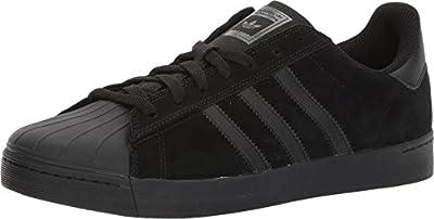 adidas Skateboarding Unisex Superstar Vulc Core Black/Core Black/Core Black Athletic Shoe (SIZE 9.5)
