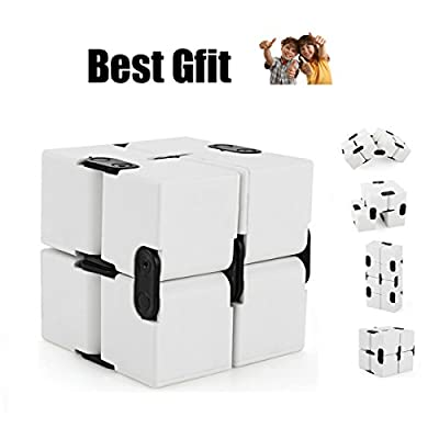 Infinity Flip Hand Fidge Cube Toy Perfect For Office Stress and Anxiety Relief and Improves your Focus and Creative funny Toy for Children .Environmental protection plastic.