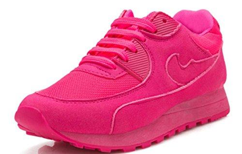 Scarpe YCMDM Donne Sport ShoesThe nuovo singolo della maglia di modo scarpe traspiranti , peach red , 37
