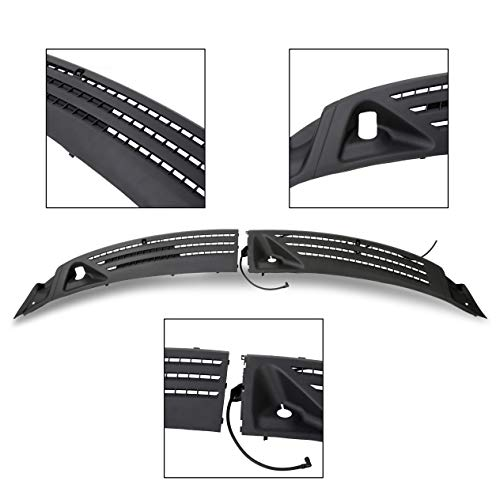 ECOTRIC Outer Windshield Window Front Wiper Cowl Cover Panel Right Left for 2004-2008 Ford - Outer Cowl
