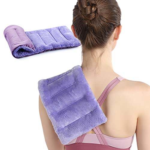 SuzziPad Microwave Heating Pad for Pain Relief - Multipurpose Heating Pads for Cramps, Muscle Ache, Joints, Back Pain, Neck, Shoulder - Microwavable Heat Pack with Moist Heat, Claming Warm Compress