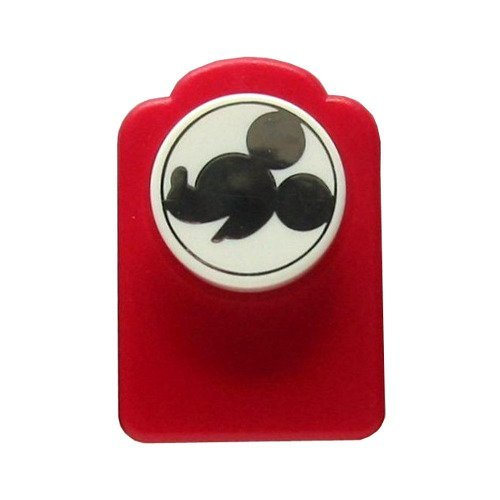 Red Paper Punch of Mickey Mouse's Head